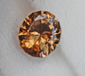 Image for Mozambique Peach-Honey Zircon 4.58 carat