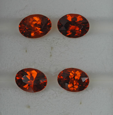 Image for Tanzania Orange Grossular Garnets 6.96 tcw