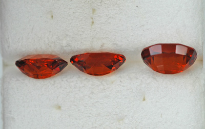 Image for Tanzania Orange Grossular Garnets 4.91 tcw