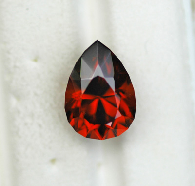 Image for Mozambique Red Orange Zircon 8.54 carat