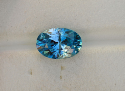 Image for Blue Zircon 3.06 ct
