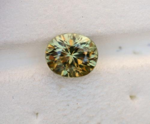Image for Sril Lanka Natural Yellow-Green Sapphire 2.13 ct