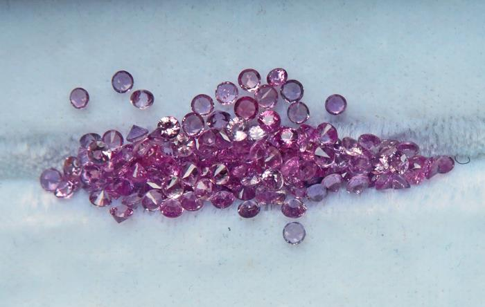 Image for Natural Ceylon Pink Sapphire Melee Parcel 6.81 tcw.