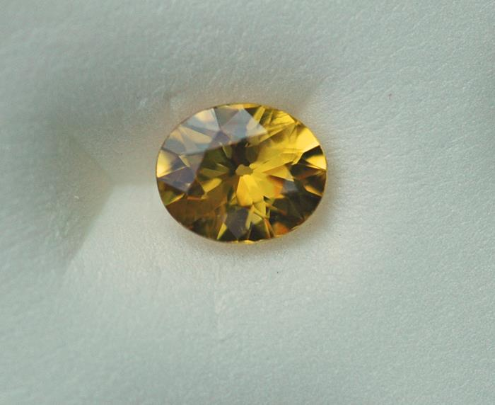 Image for Thailand Natural Golden Sapphire 1.12 ct