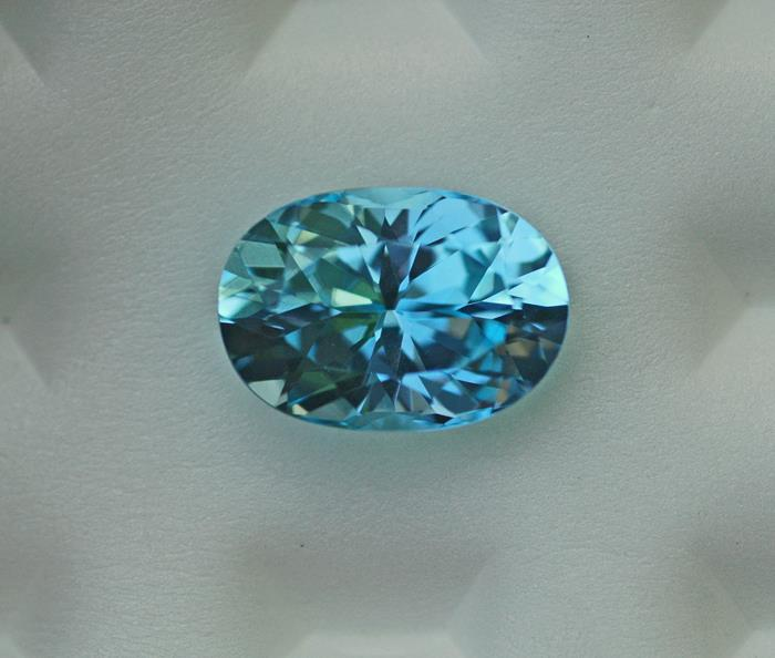 Image for Nigerian Blue Topaz 11.48 ct