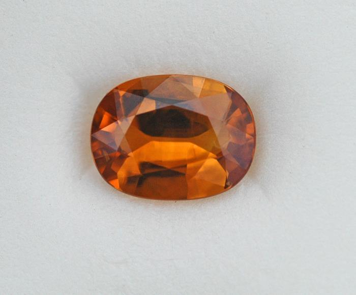 Image for Natural Golden Orange Sapphire 2.22 ct