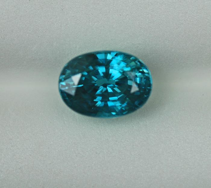 Image for Natural Cambodian Blue Zircon 2.99 ct