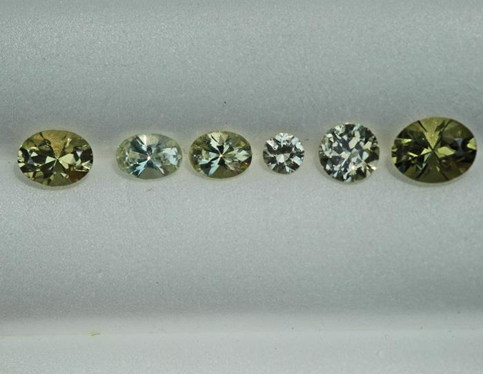 Image for Tanzania Natrual Chrysoberyl Lot 2.44 TCW