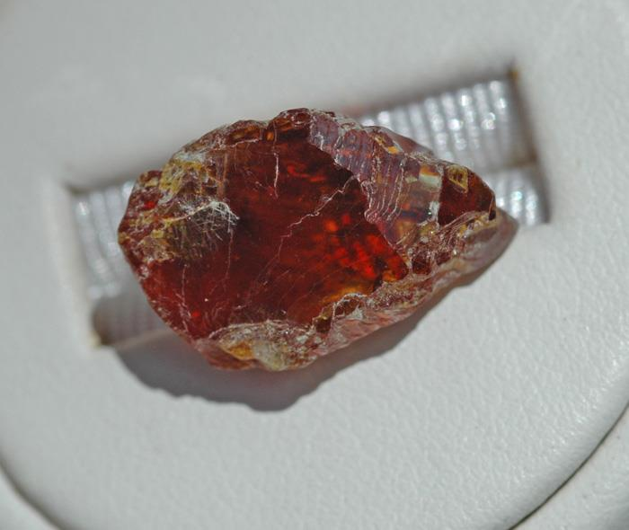 Image for Spain Natural Sphalerite facet Rough 22.38 carats