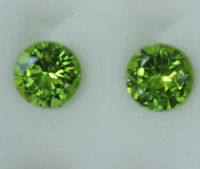 Image for Pakistan Natural Peridot Pair 5.75 tcw