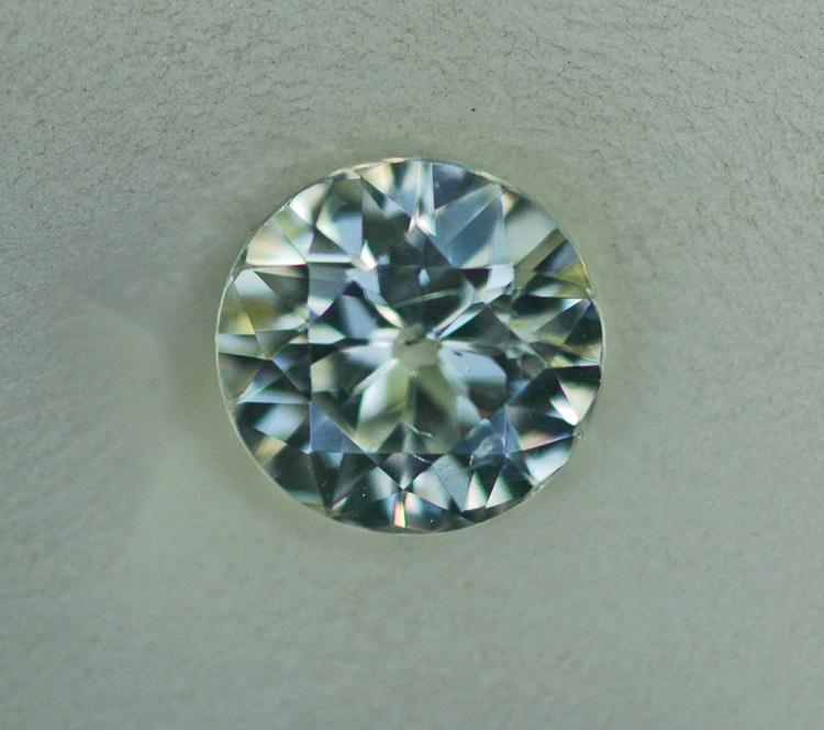 Image for Natural Cambodia White Zircon 3.55 carat