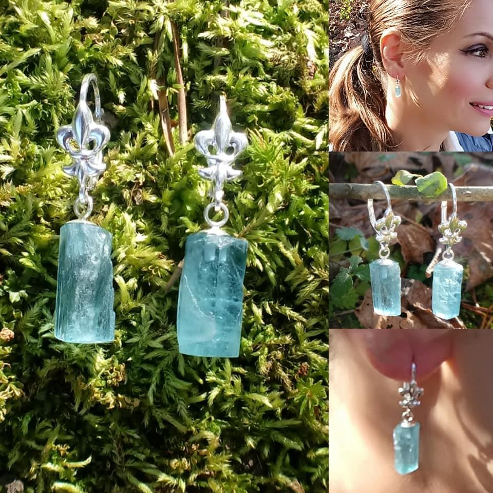 Image for Aquamarine Earrings 12.58 tcw.