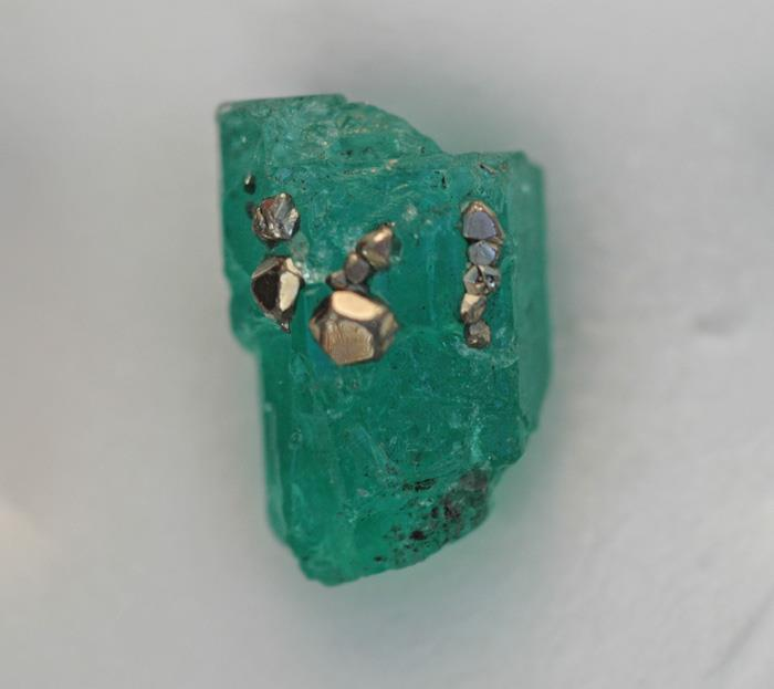 Image for Muzo Mine Natural Colombian Emerald crystal Facet Rough 8.31 carats
