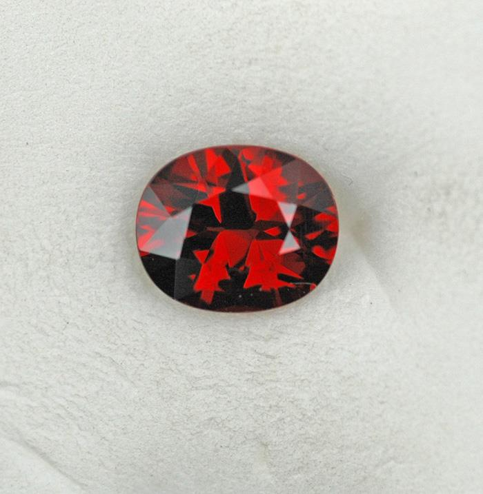 Image for Nigeria natural red Spessartite garnet 2.41 carat