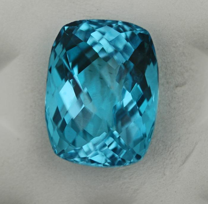 Image for Nigeria Electric Swiss Blue Topaz 27.92 carat