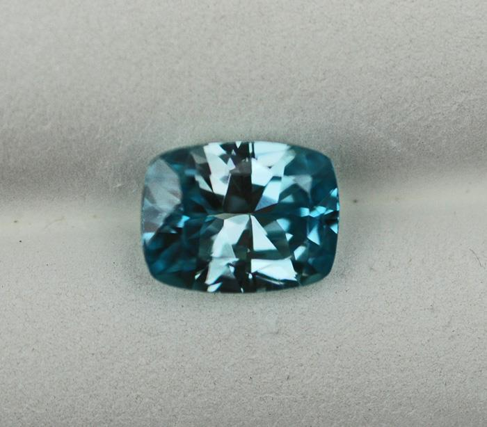 Image for Cambodia natural Blue Zircon 3.25 carat