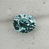Image for Cambodia Natural Zircon Blue Green 5.28 carat