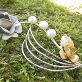 Image for 14k White and Yellow Gold Pearl Broach 11.98 gr.