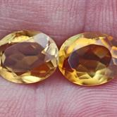 Image for Citrine Pair 4.44 tcw.