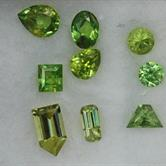 Image for Natural Demantoid Garnet USSR 9 stone Parcel 1.67 tcw