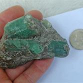 Image for USSR Ural Mountain Natural Emerald Specimen 805 carats