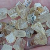 Image for Tanzania natural Golden Scapolite Facet Rough Lot 140.76 tcw