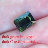 Image for Afghanistan green Tourmaline 6.8 carat