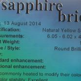Image for Sri Lanka Natural Yellow Sapphire 1.03 carat