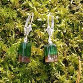 Image for Bi Color Tourmaline Earrings 11.33 tcw.